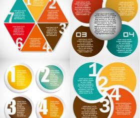 Statistical data template design elements