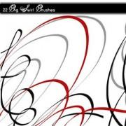 Link toBig swirl photoshop brushes