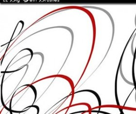 big swirl Photoshop Brushes