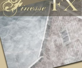 Crinkled Paper  Photoshop Brushes