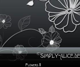 Flowers 11 Photoshop Brushes