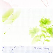 Link toHand-painted floral background vector graphic