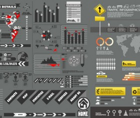 fashion information chart Vector Graphic