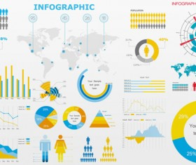 Economy Infographics Vector