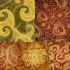 Antique decorative pattern background vector