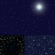 Link toThe starry background vector