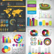 Link toData analysis statistical chart vector