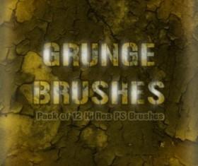 Grunge Wall Brushes  Photoshop Brushes