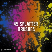 Link toSpetter and splash with splatter photoshop brushes