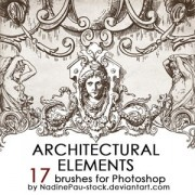 Link toArchitectual ornaments photoshop brushes