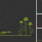 Horizontal version of the tree backgrounds vector material