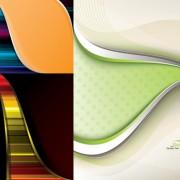 Link toBeautiful lines backgrounds art vector graphic