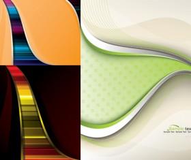 Beautiful lines backgrounds art vector Graphic