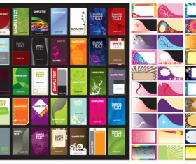 The card background templates vector