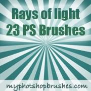 Link toRays of light photoshop brushes