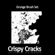 Link toCrispy cracks grunge brush set photoshop brushes