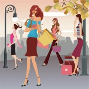 Link toShopping women 02 vector