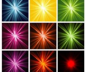 Light Rays Background design vector