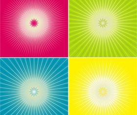 Color the background radiation Vector Graphic