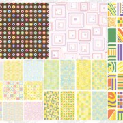 Commonly used decorative pattern 1
