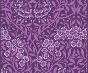 Purple Decorative pattern background vector material