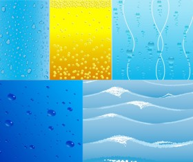 Water related background vector