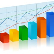 Link toStatistical chart elements vector