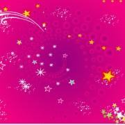 Link toRed stars background vector art