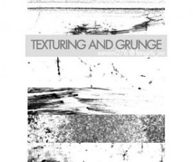 Texturing and Grunge Photoshop Brushes
