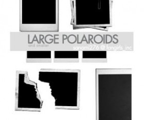 Large Polaroid Photoshop Brushes