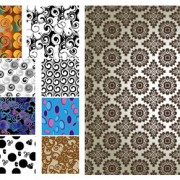 Link toAntique decorative pattern background vector material