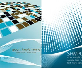 Creative Business design backgrounds vector