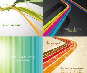 Lines of the background vector material