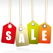 Link toColored sale tag