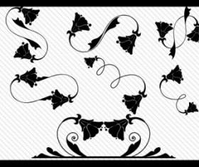 Floral Ornaments 04 vector art