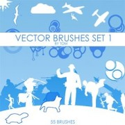 Link toSet of vector set 1 photoshop brushes
