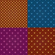 Link toDecorative pattern seamless background vector graphic