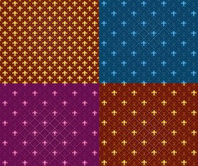 Decorative pattern seamless background Vector Graphic