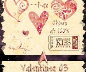 Valentine 03 PS CS 2 Photoshop Brushes