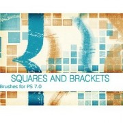 Link toSquares and brackets ps 7.0 photoshop brushes