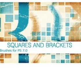 Squares and Brackets PS 7.0 Photoshop Brushes