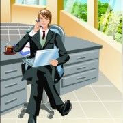 Link toStylish office people set 26 vector