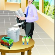 Link toStylish office people set 27 vector