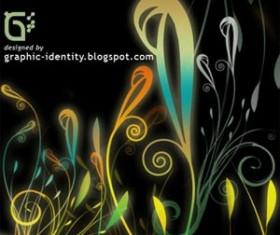 Fantasy Floral Part 3 Photoshop Brushes