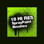 Link toSpray paint splatter photoshop brushes