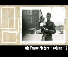Old Frame Picture Photoshop Brushes