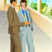 Link toStylish office people set 35 vector