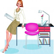 Link toStylish office people set 41 vector