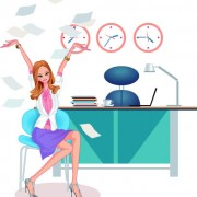 Link toStylish office people set 50 vector