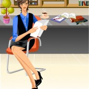 Link toStylish office people set 60 vector